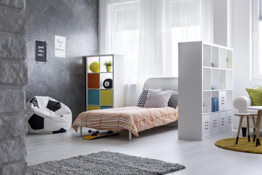 Inspirație pentru amenajarea spațiilor mici - dormitor si sufragerie