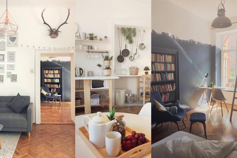 airbnb la munte scandinavian flat