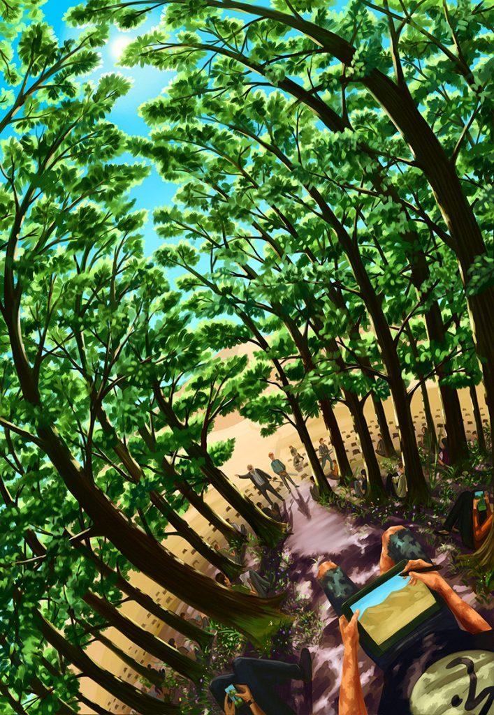 permacultura ilustratie giorge gradina