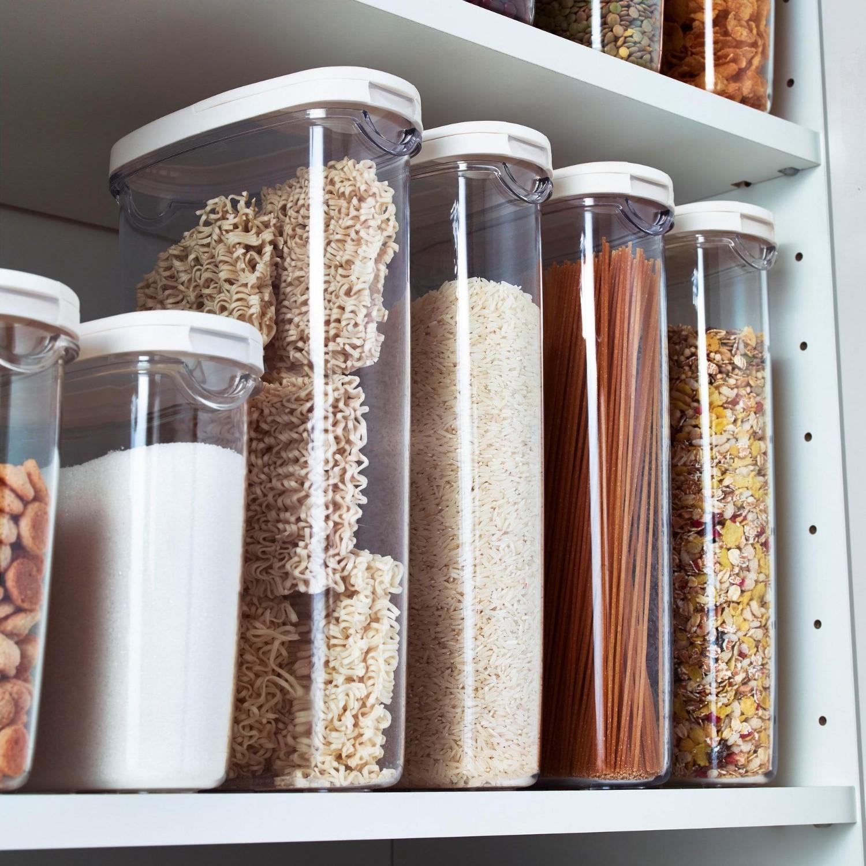 solutii de depozitare pentru bucatarie caserole