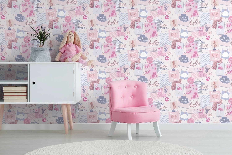 tapet accesibil roz