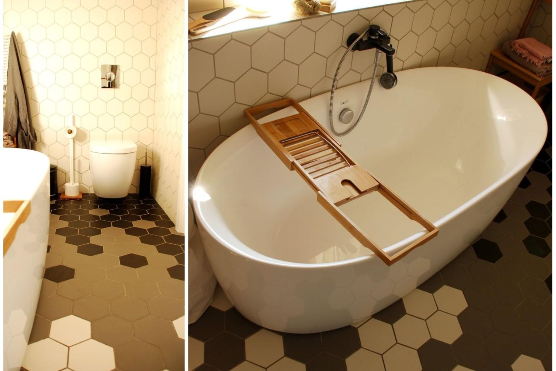 baie cu cadă freestanding