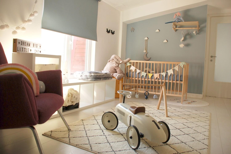 Casă din București - amenajare cameră bebe