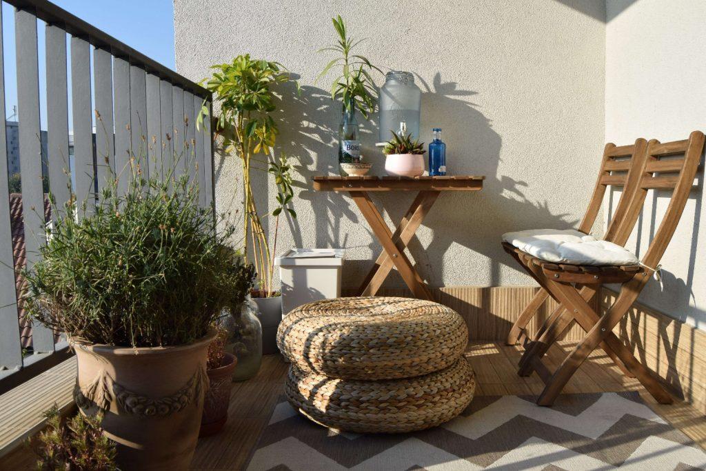 Amenajare balcon plante