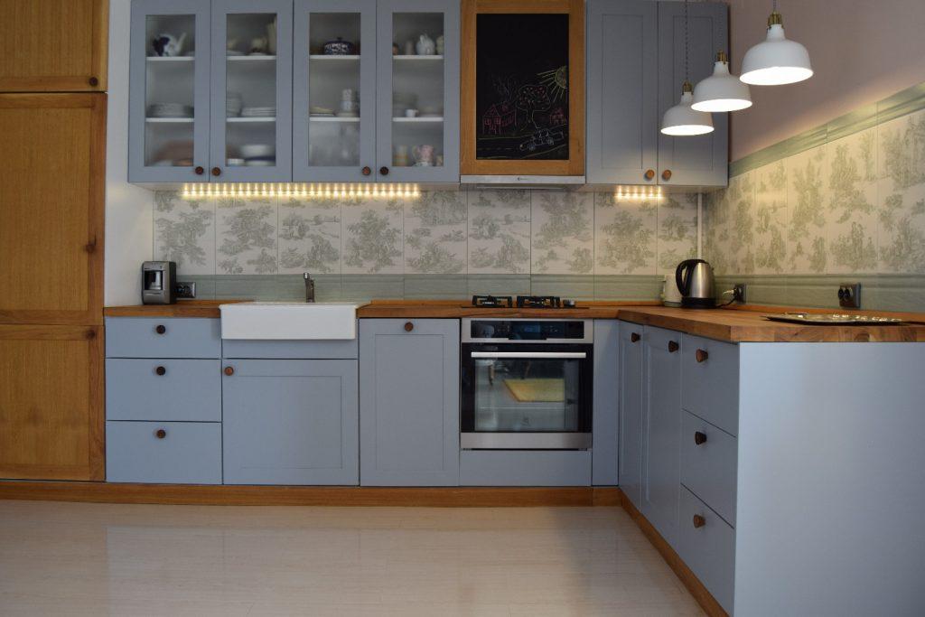 Bucătărie pastel