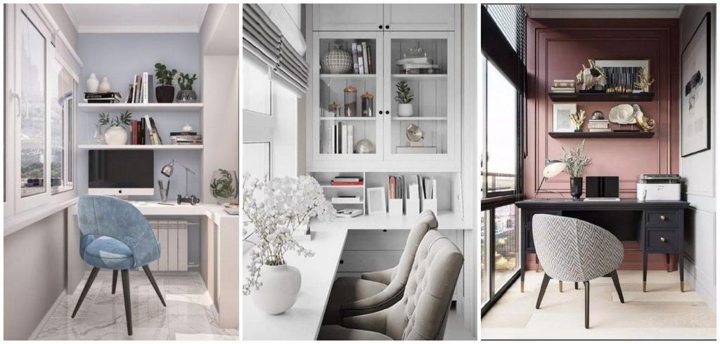 Cum amenajezi un birou pe balcon – soluții și exemple practice delimitare spatiu