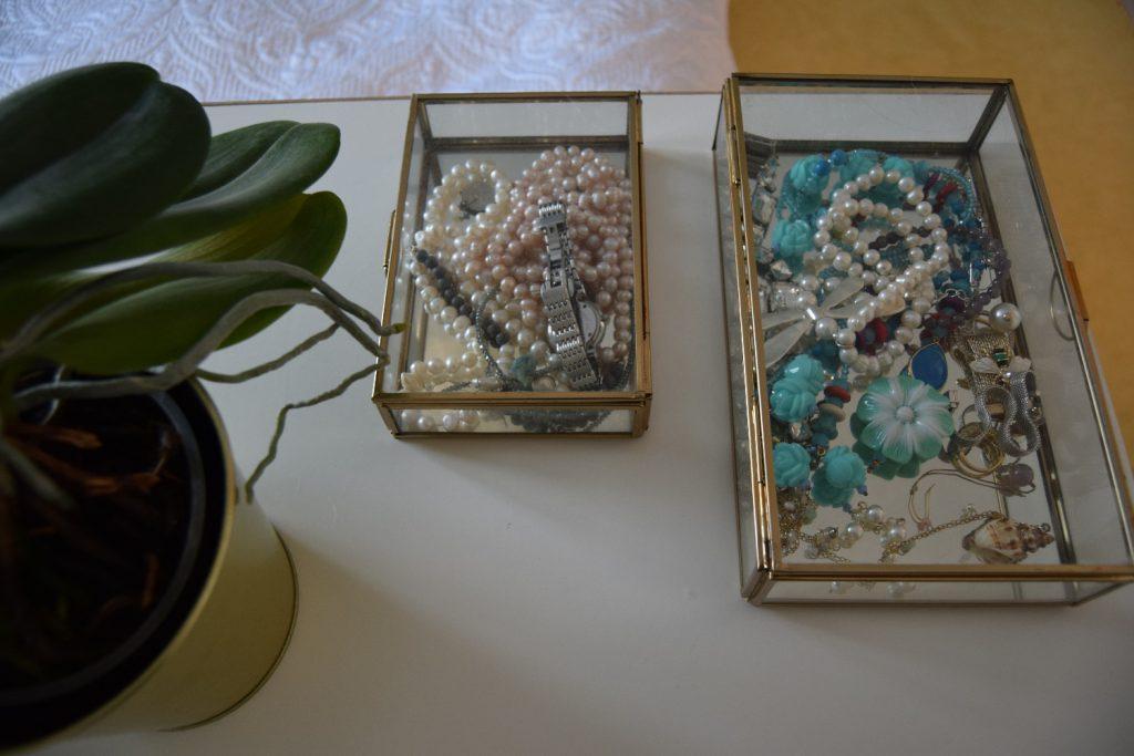 Cutii bijuterii dormitor