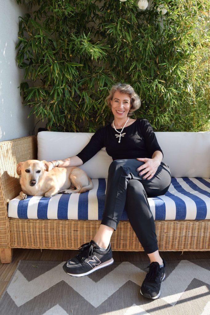Ilinca și Lili balcon