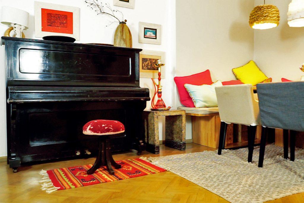 Amenajare living casa Cotroceni