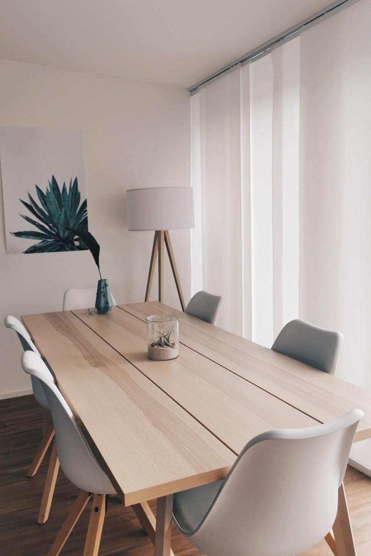 living in stil minimalist masa