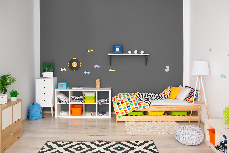 organizarea spatiului in camera copilului depozitare