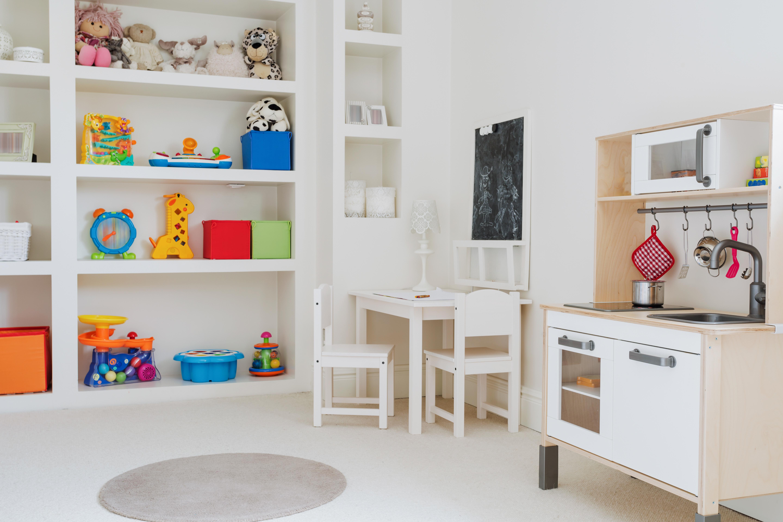 organizarea spatiului in camera copilului vertical