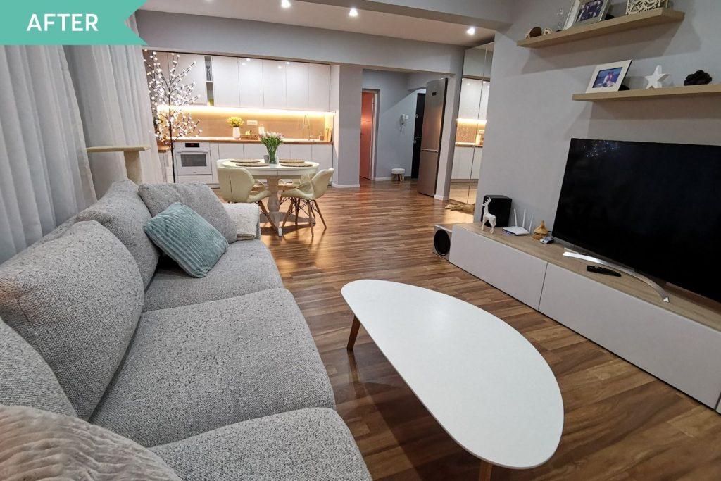 amenajare apartament două camere Berceni
