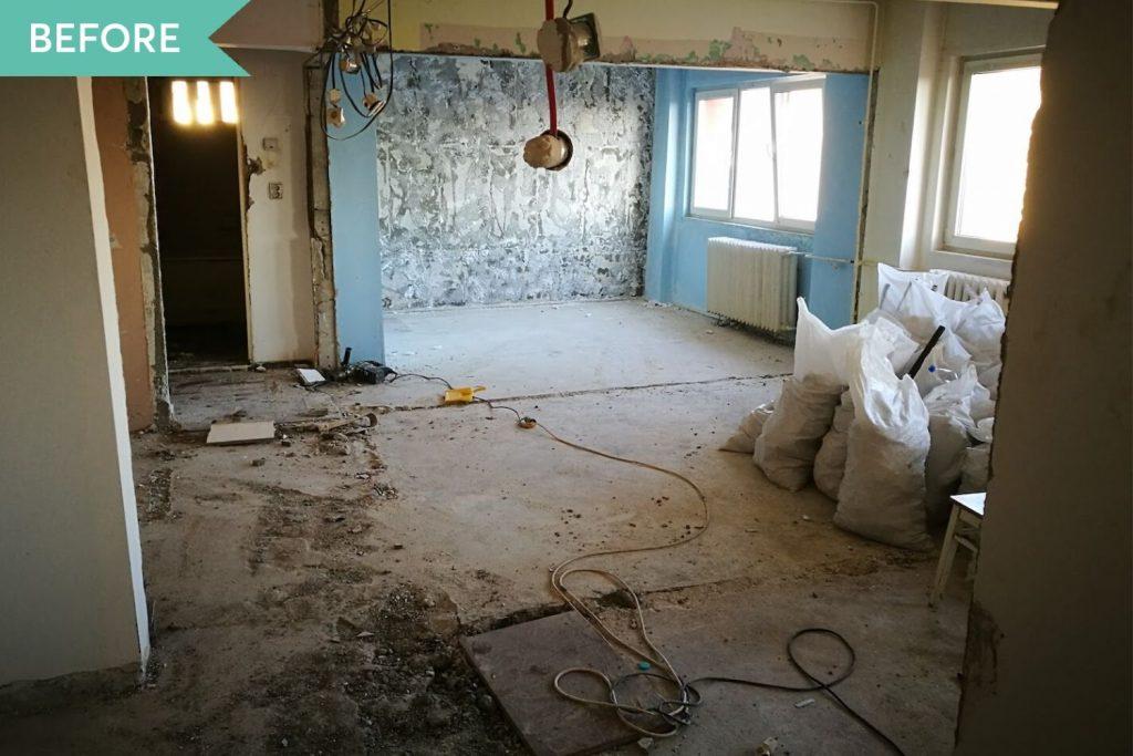 amenajare apartament două camere