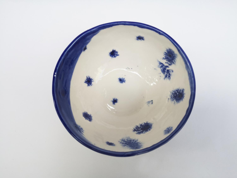 Bol fulgi de nea - Ceramică - Una ca Luna