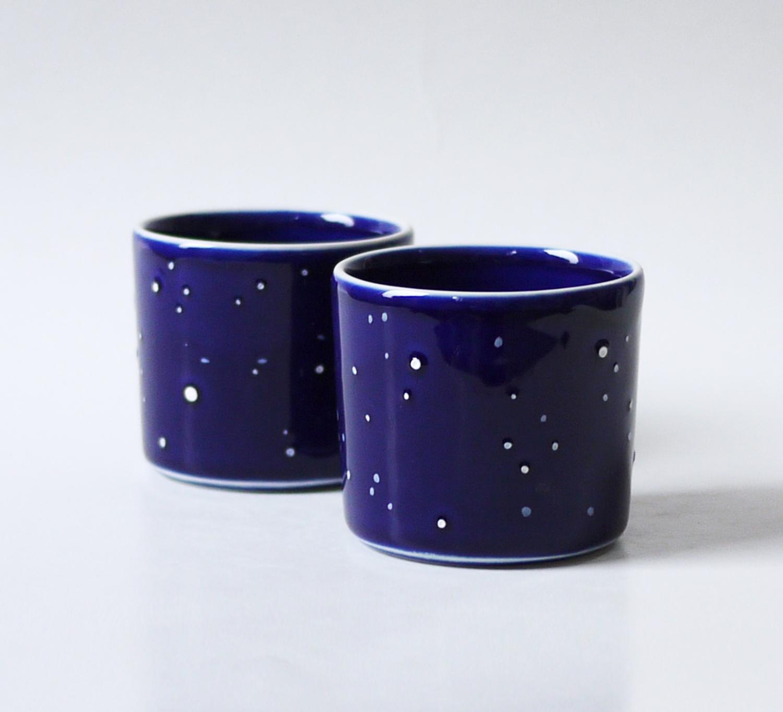 Pahare Celestiale - cadou de Crăciun - De Ceramica