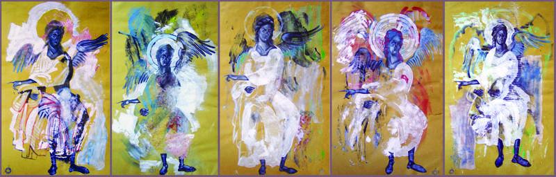 Tablou Îngeri - Silvia Pintilie