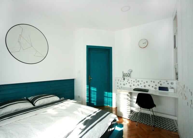 apartament interbelic mihail neagu dormitor