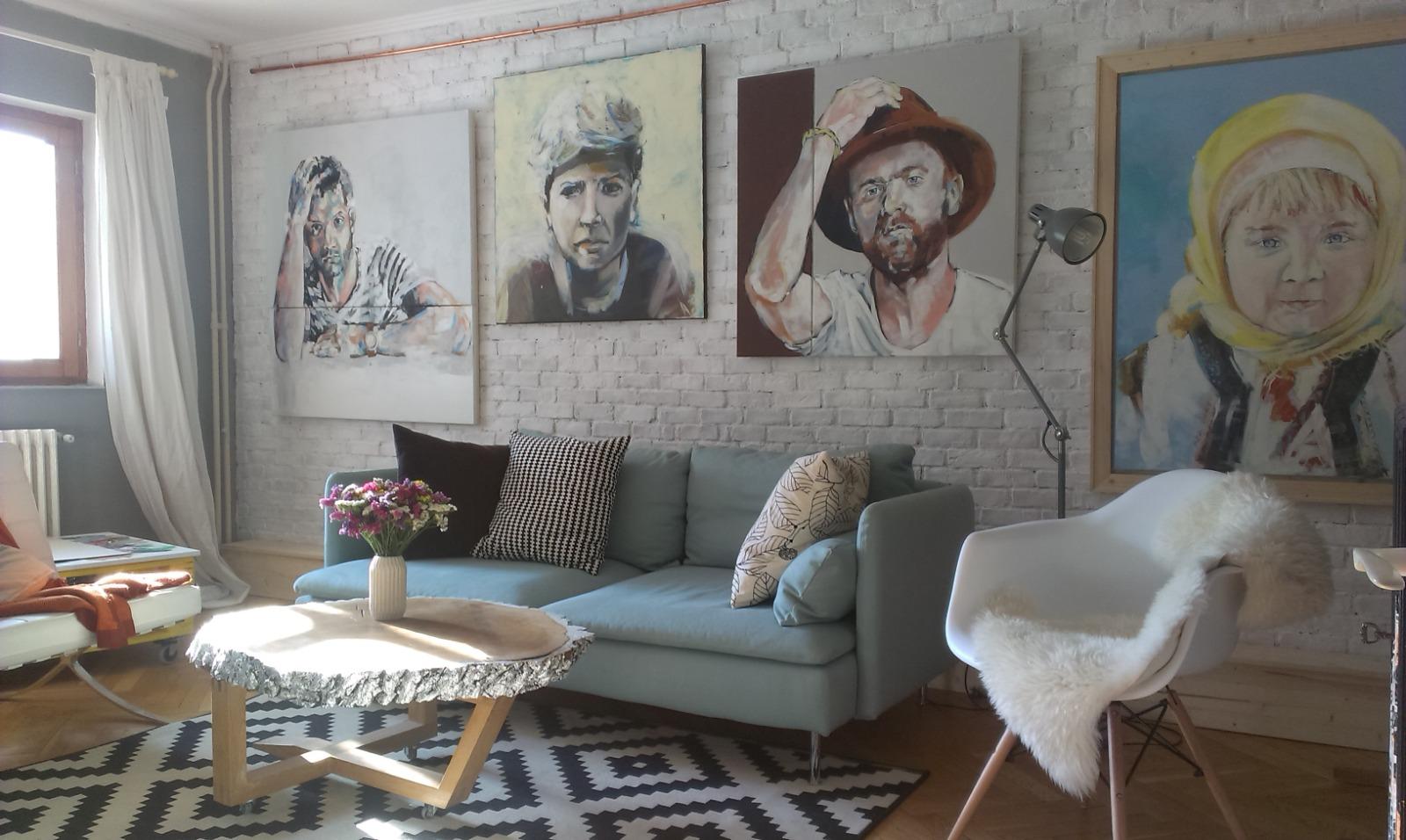 caramida decorativa alba sufragerie Tudor Bura