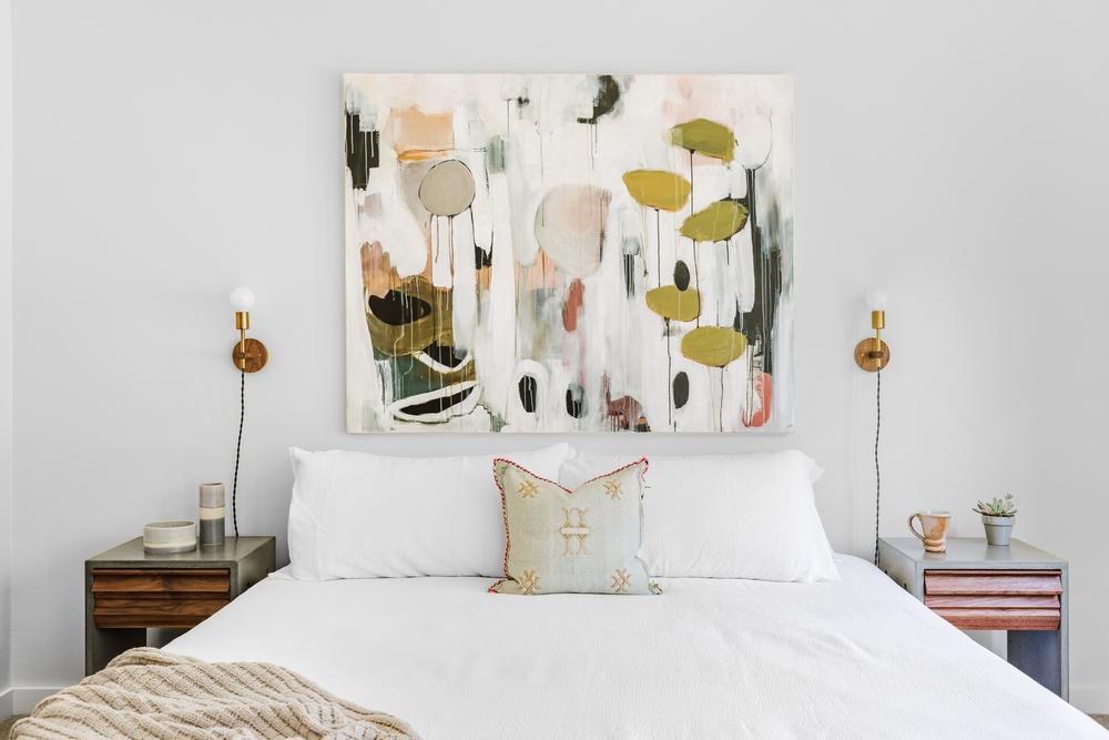 Dormitor artistic