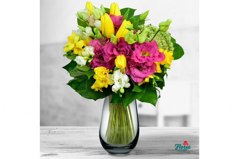 buchet flori de primăvară
