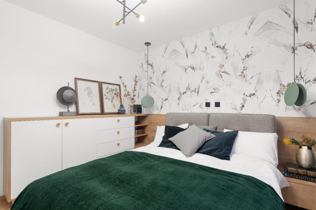 Amenajare dormitor tapet (1)