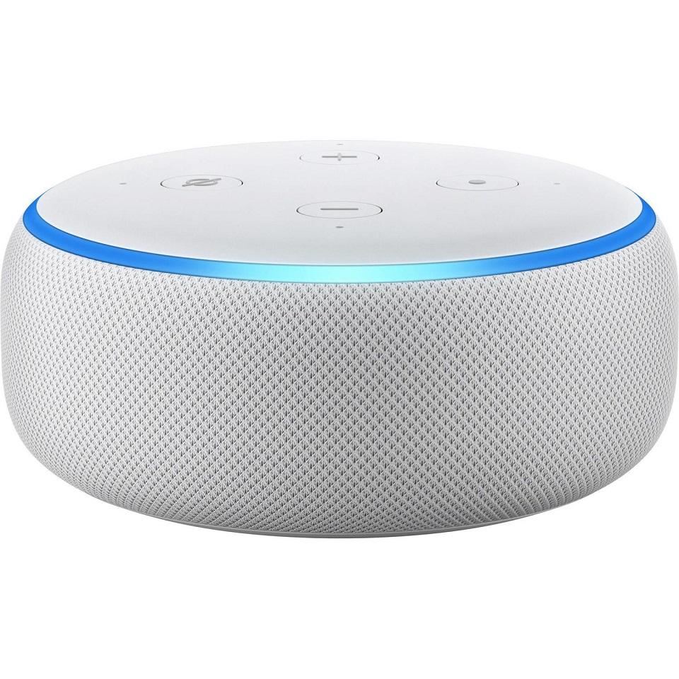 Boxa Amazon Echo Dot 3, Alexa, Argintiu