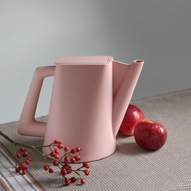 Ceainic Doric roz pastelat Ceramic Sparrow