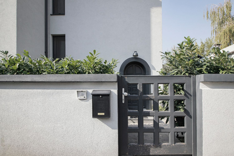 Gard casă interbelică