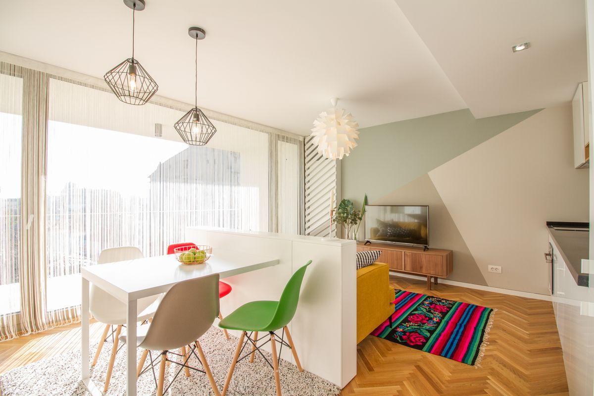 amenajare apartament 3 camere open space
