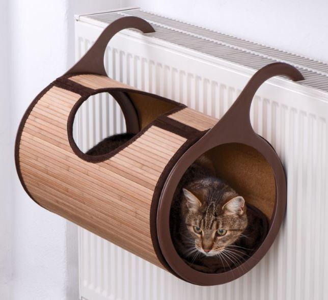 Patut pisici lemn