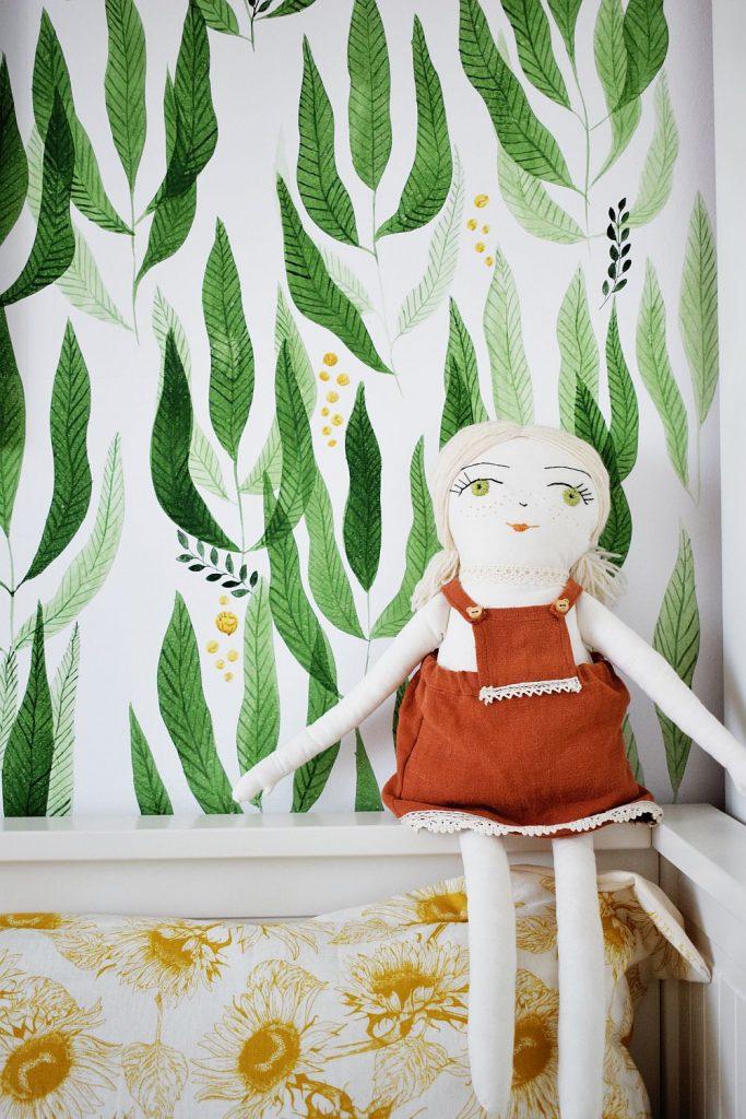 pereți pictați camera copilului