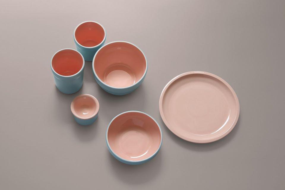 Set de recipiente ceramice Coloratum Set