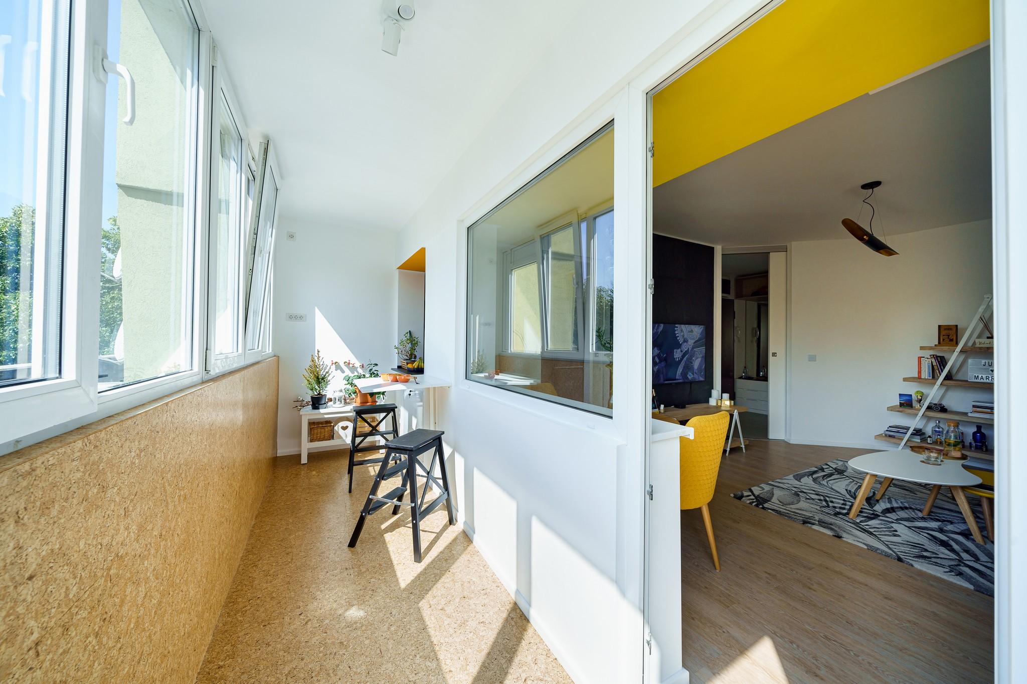 apartament bucuresti balcon parchet pluta