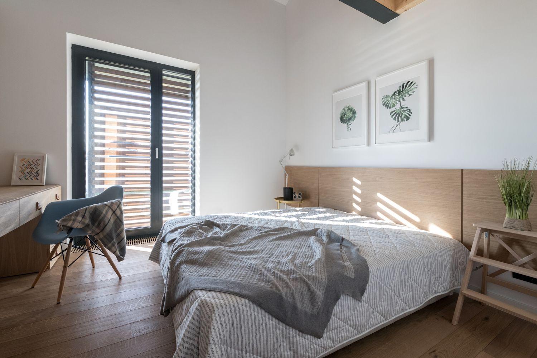 amenajare dormitor in nuante deschise