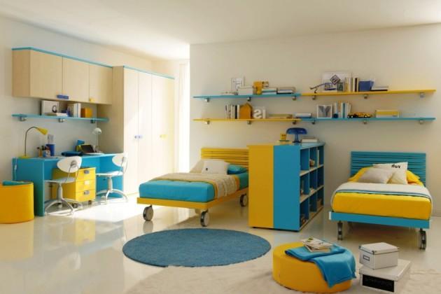 dormitor pentru doi copii