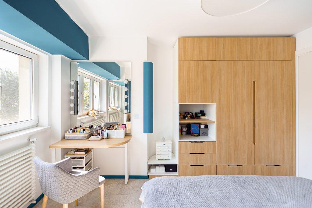 amenajare apartament bucuresti dulap dormitor
