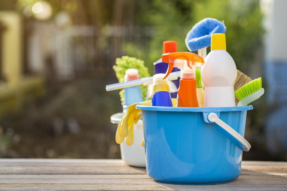organizare produse curățenie