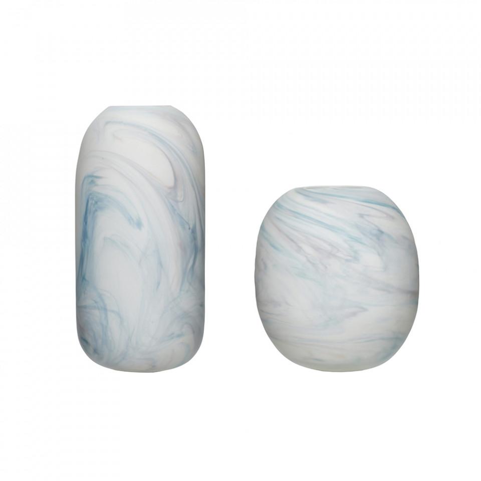 set-2-vaze-din-sticla-si-marmura-justyne-hubsch_169448