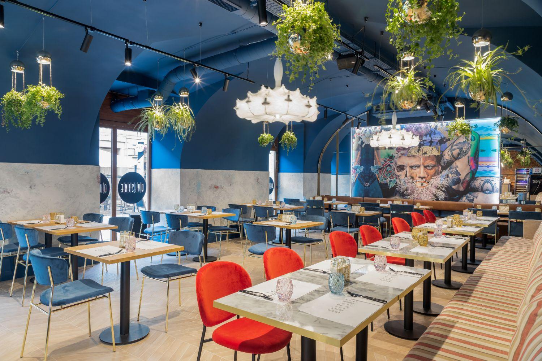 Quisine Timisoara - Amenajare restaurant Pure Mess Design