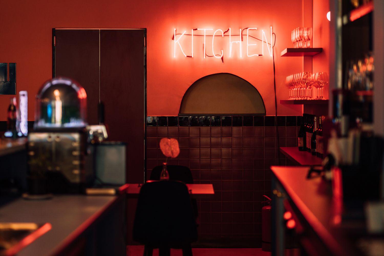 Semn luminos neon Kitchen