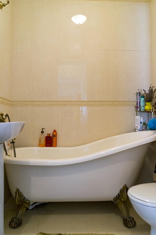 amenajare stil britanic baie