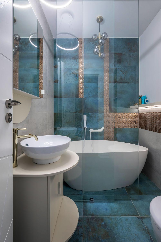 apartament modern baie