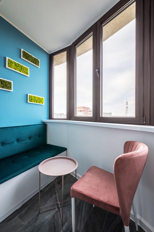 apartament modern balcon