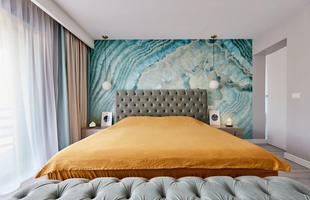dormitor colorat
