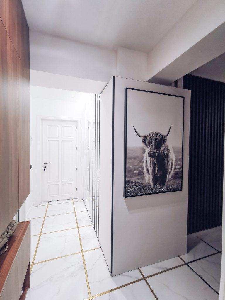 Amenajare hol apartament Iași - PureAmbianceDesign
