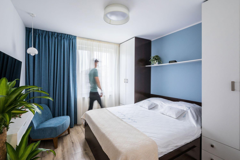 apartament Rahova dormitor