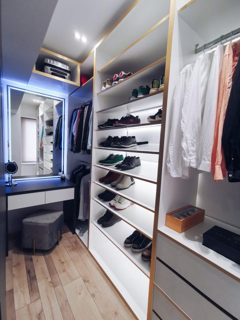 Dressing pe comandă apartament Iași - PureAmbianceDesign