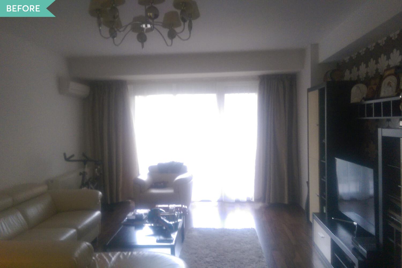 living apartament cu terasă