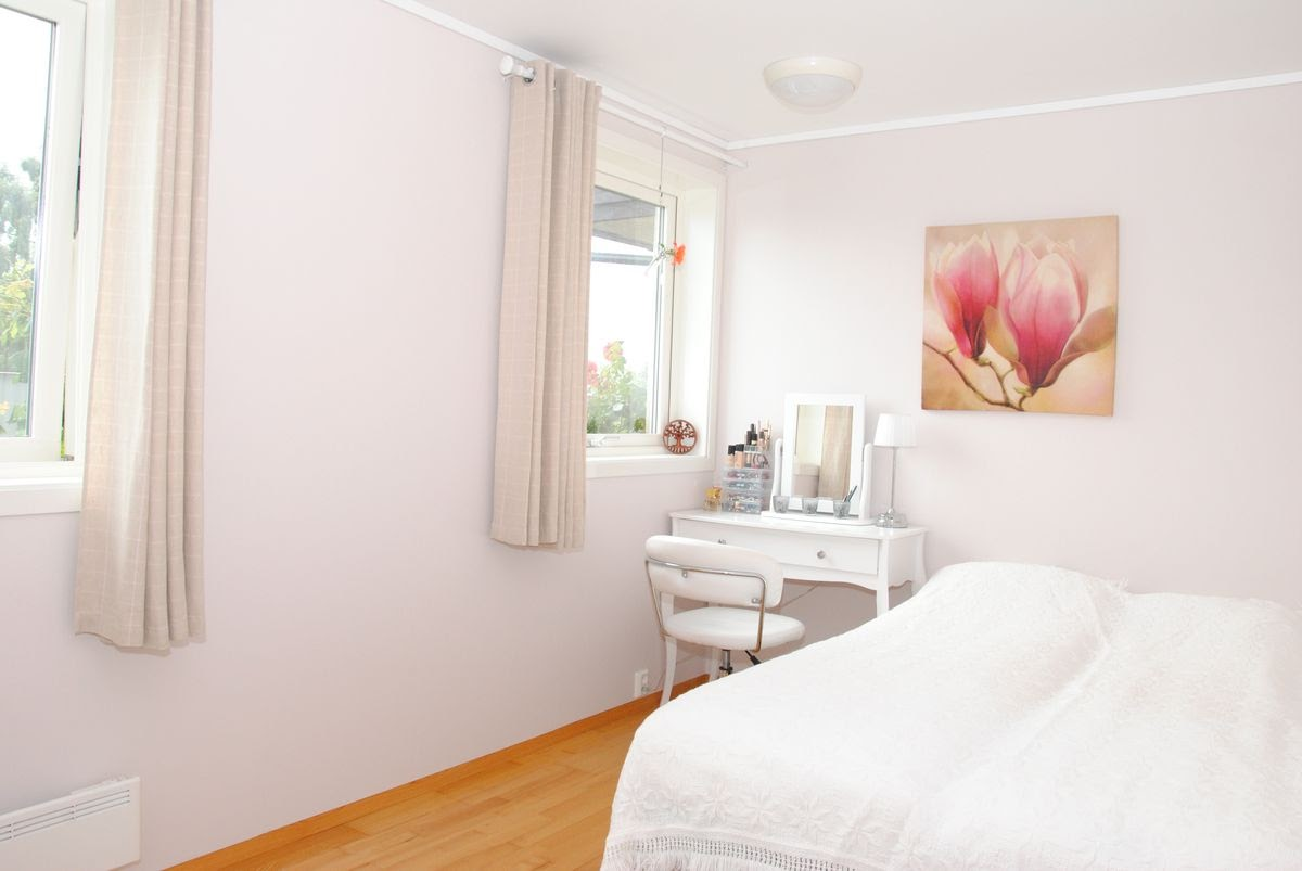 casa norvegia dormitor